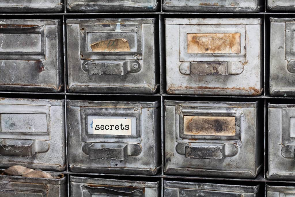 research government and NGO secrets