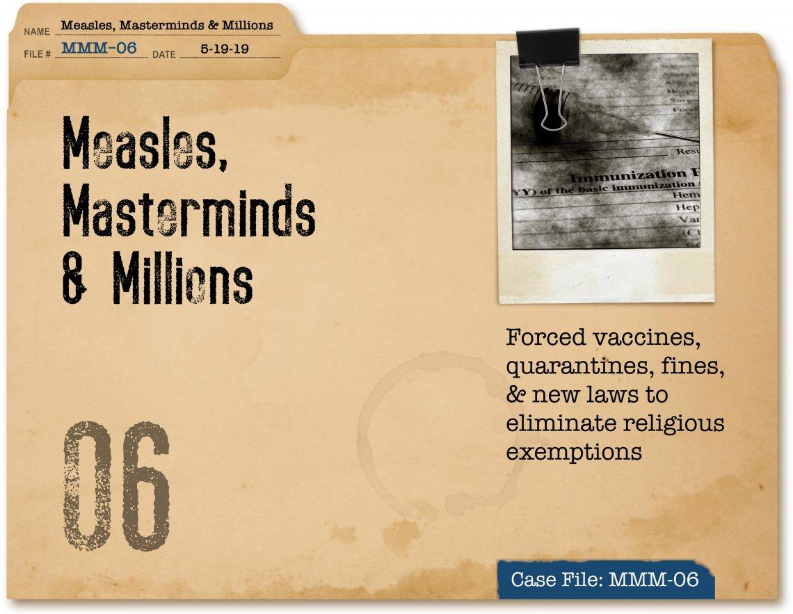 Measles, Masterminds & Millions Part 6 | coreysdigs com