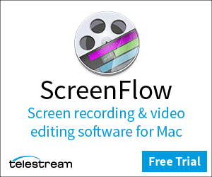 ScreenFlow recording and video editing software for Mac
