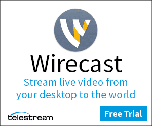 Wirecast stream live video from your desktop to the world