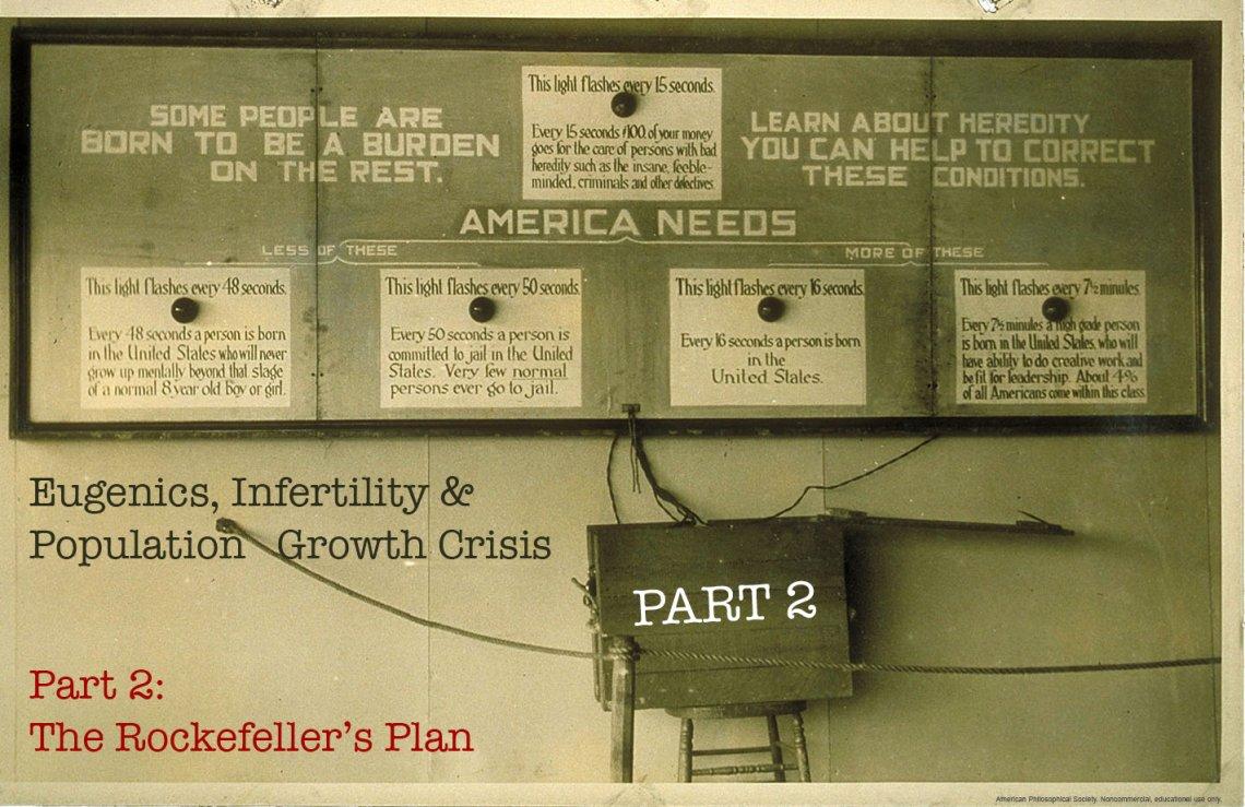 Eugenics, Infertility & Population Growth Crisis Part 2