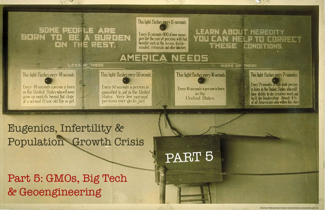 Eugenics, infertility & population growth crisis part 5