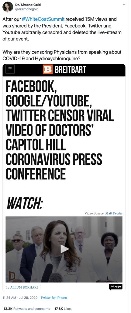 Doctor-Gold-censorship-431x1024 COVID-19: The Coverup, The Cure, and Key Evidence