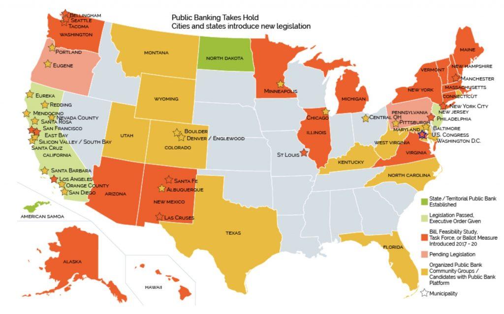 Public Banks Map